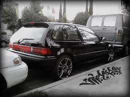 honda civic hatchback 1989