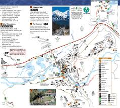 banff national park maps