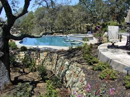 pools and landscaping