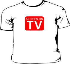 as seen on tv t shirt