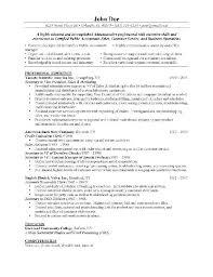 electrical engineer resume