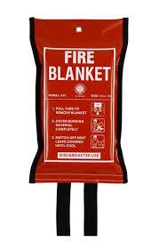fire blanket instructions