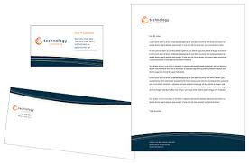 letterhead sample design
