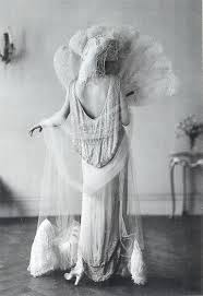flapper evening dress