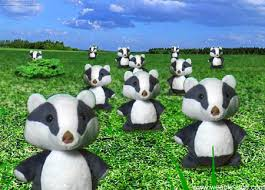 plush badger