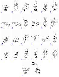 deaf sign languages