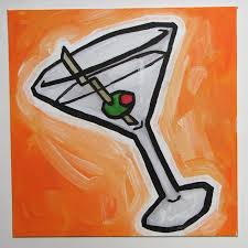 martini cartoon
