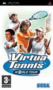 psp virtua tennis