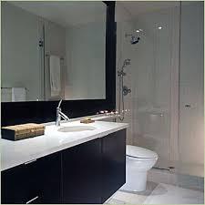 contemporary bath mirror