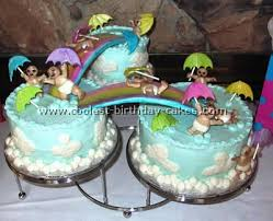 cool baby shower cakes