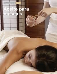 aceites de masajes