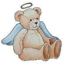 angel teddy bears
