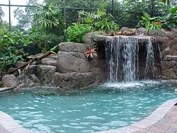 pool waterfall pictures