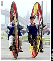 one wheel cycle