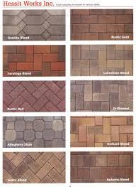 concrete paver stones