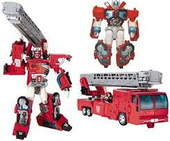 optimus prime fire truck