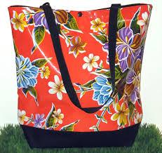 oil cloth bag