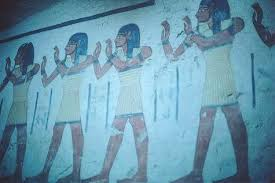ancient egypt wall paintings