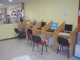 internet cafe interior design