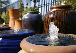 water gardens fountains