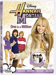 hannah montana one in a million dvd