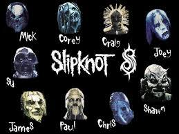 las mascaras de slipknot