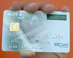 credit card with photo