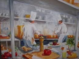 cook painting