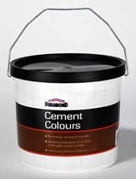 coloured cement