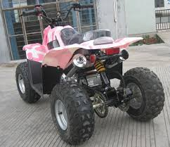 pink four wheelers