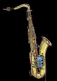 electric saxophone