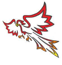 phoenix bird clipart