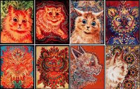louis wain paintings