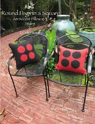 round accent pillow