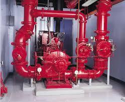 electric fire pump