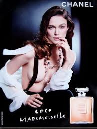 chanel perfume advertisement