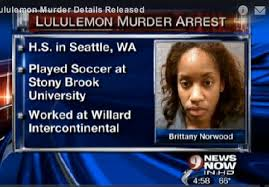 Suspect Brittany Norwood was