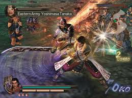 samurai warriors playstation