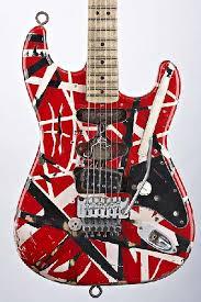 evh replica guitar