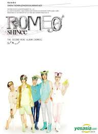 SHINee 2nd Mini Album Romeo