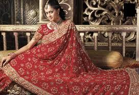 bridal saree designs