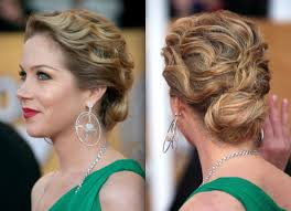 how to curly updo