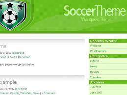 soccer themes