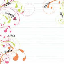 blank notebook paper