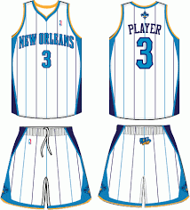 new orleans hornets uniforms
