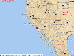 map of southwestern usa