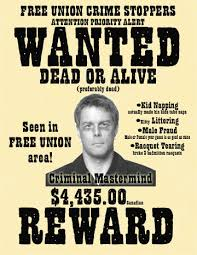 criminal wanted