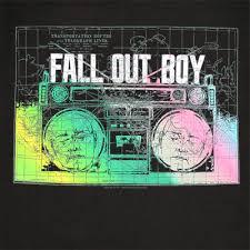 fall out boy tee shirt