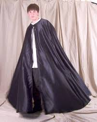black cloak costume