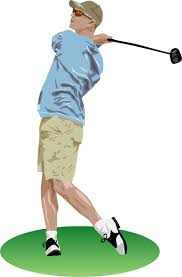 golf swing clip art